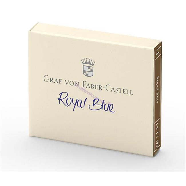 Graf von Faber-Castell Dolmakalem Kartuşu 6'lı - Royal Mavi