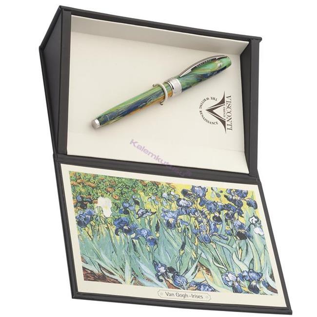 VISCONTI Van Gogh-Irises Vegetal Resin Tükenmez Kalem  %30 İndirimli Fiyatlarla