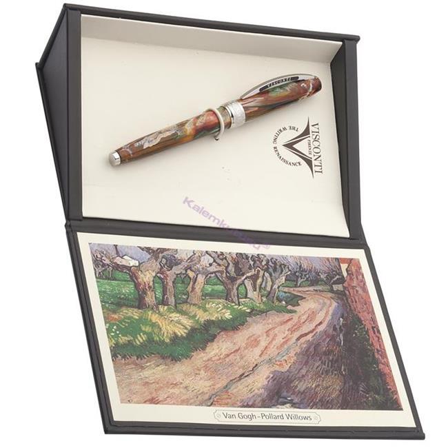 VISCONTI Van Gogh-Pollard Willows Vegetal Resin Tükenmez Kalem<br><img src='resim/mypenli.gif' border='0'/>