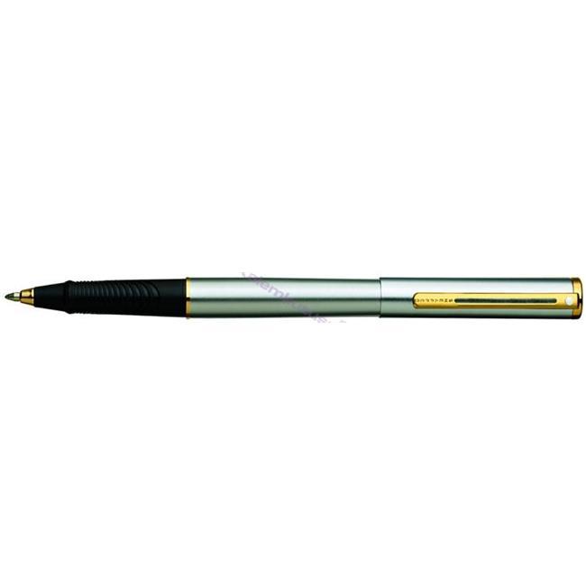 SHEAFFER Agio Slim Parlak Krom/Altın Roller Kalem  %30 İndirimli Fiyatlarla