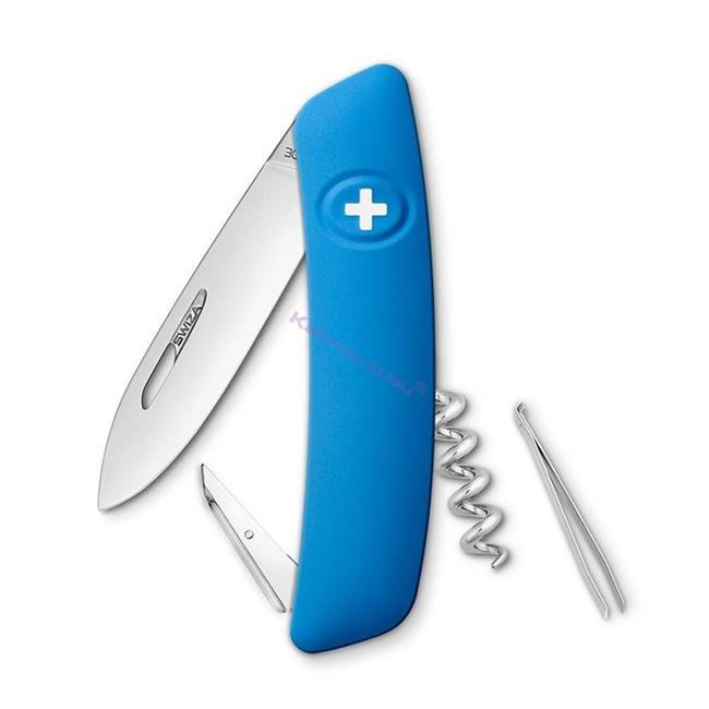 Swiza D01 Blue Yeni Nesil İsviçre Cep Çakısı 4 Fonksiyonlu