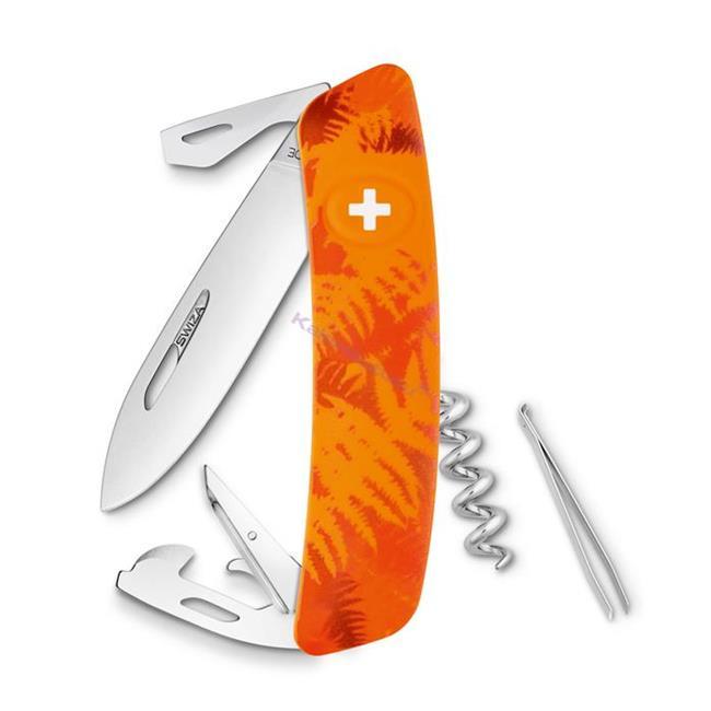 Swiza C03 Filix Camouflage Orange Yeni Nesil İsviçre Cep Çakısı 6 Fonksiyonlu