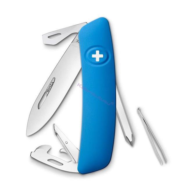 Swiza D04 Blue Yeni Nesil İsviçre Cep Çakısı 6 Fonksiyonlu