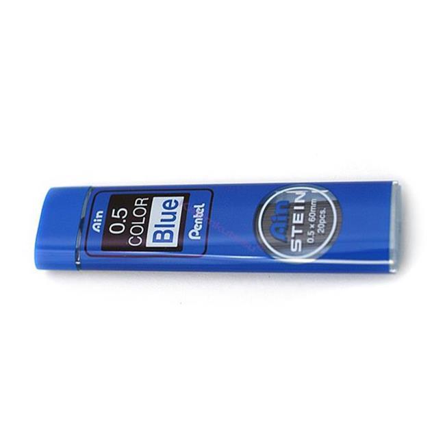 Pentel Ain STEIN Seramik Alaşımlı 0.5x60mm-20 adet Mekanik Kurşun Kalem Ucu - Mavi