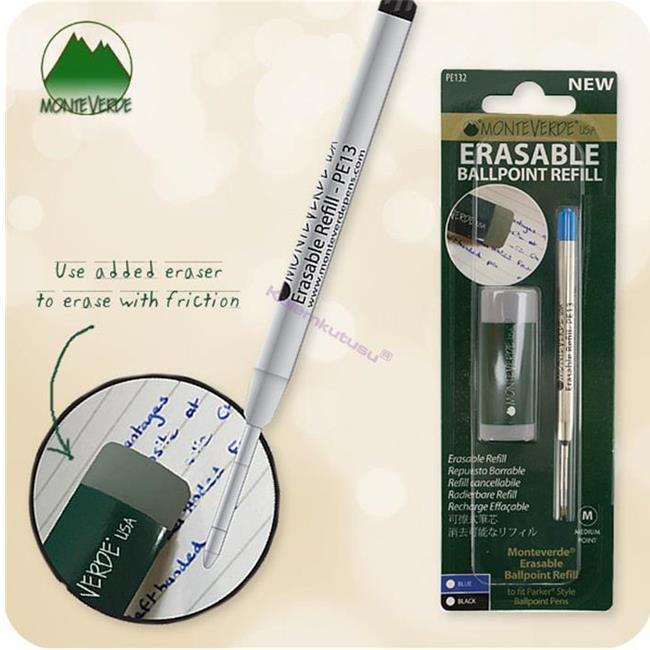 MONTEVERDE U.S.A Parker Tükenmez kalem Stili Silinebilir Yedek  - Silgi Hediyeli