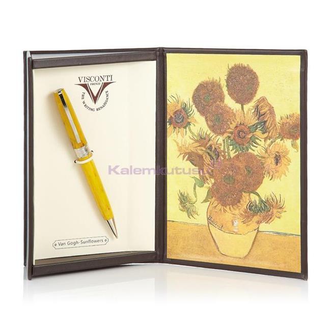 VISCONTI Van Gogh-Sunflowers Vegetal Resin Tükenmez kalem<br><img src='resim/isyaz.gif' border='0'/><br><img src='resim/mypenli.gif' border='0'/>