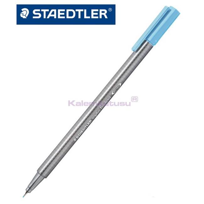Staedtler 334-34 Üçgen Fineliner Su Mavisi 0.3 Mm