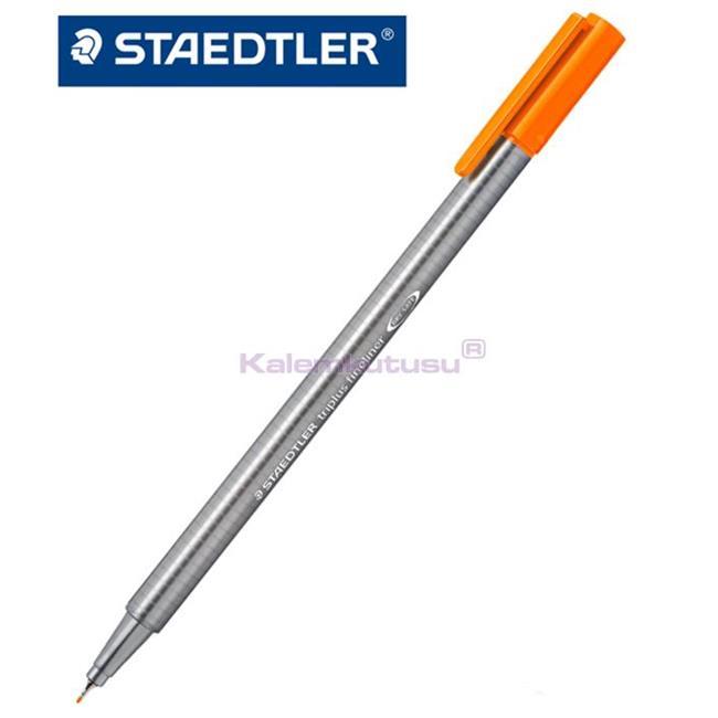 Staedtler 334-4 Üçgen Fineliner Turuncu 0.3 Mm