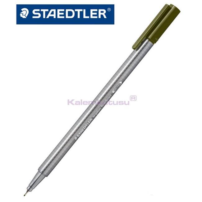 Staedtler 334-5 Üçgen Fineliner Yeşil 0.3 Mm