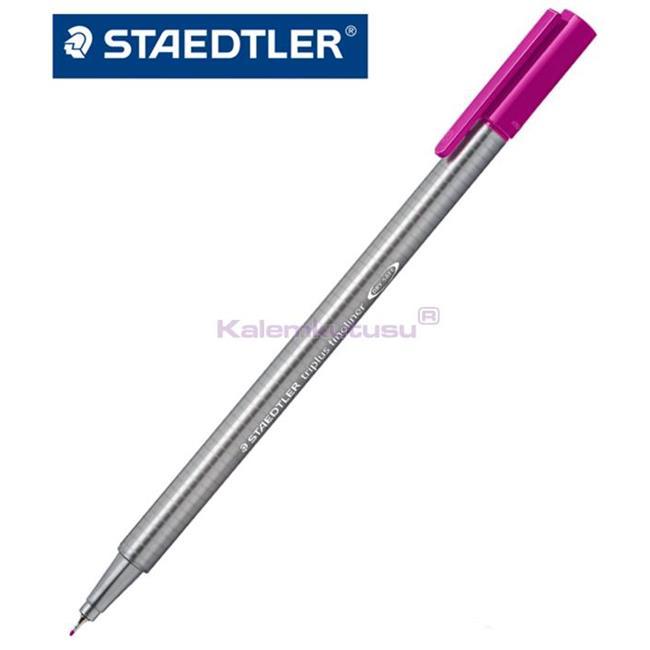 Staedtler 334-61 Üçgen Fineliner Fuşya 0.3 Mm