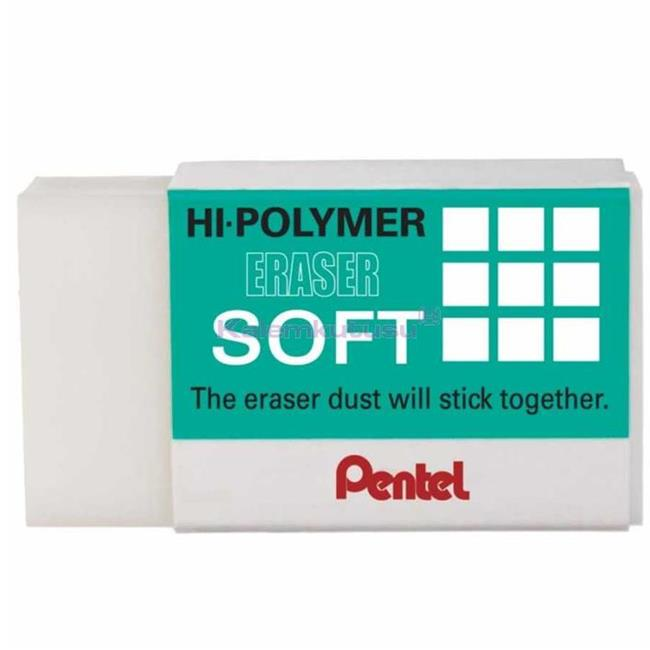 Pentel Silgi Hi-polymer Zes-08 Soft