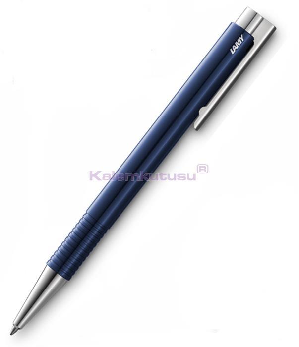 LAMY LOGO PARLAK MAVİ/PARLAK KROM TÜKENMEZKALEM - Shiny Blue %30 İndirimli Fiyatlarla