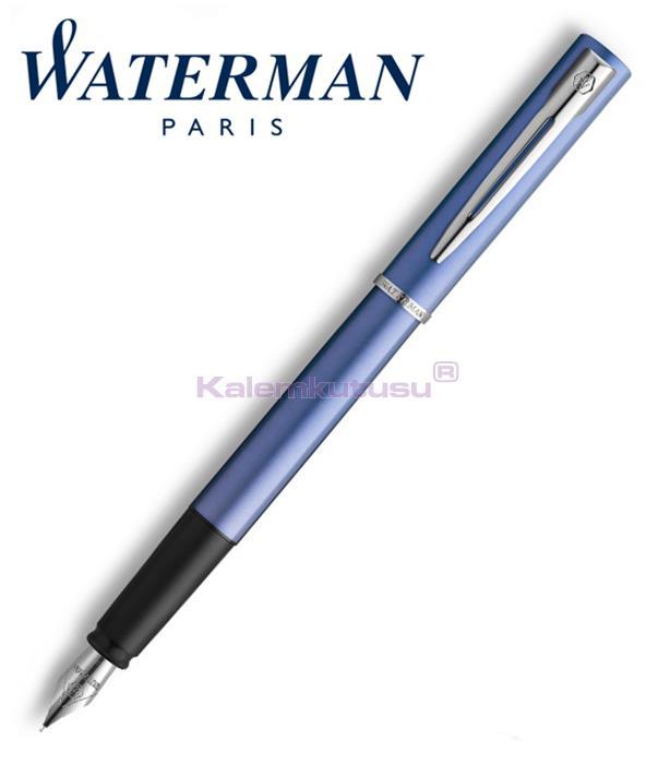 Waterman Allure Mavi/Paladyum Dolma Kalem<br><img src='resim/isyaz.gif' border='0'/>