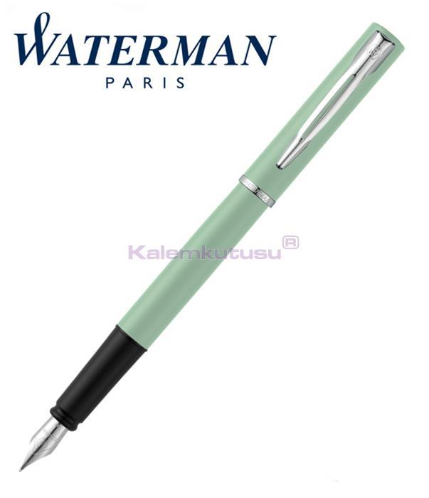 Waterman Allure Pastel Yeşil/Paladyum Dolma Kalem<br><img src='resim/isyaz.gif' border='0'/>