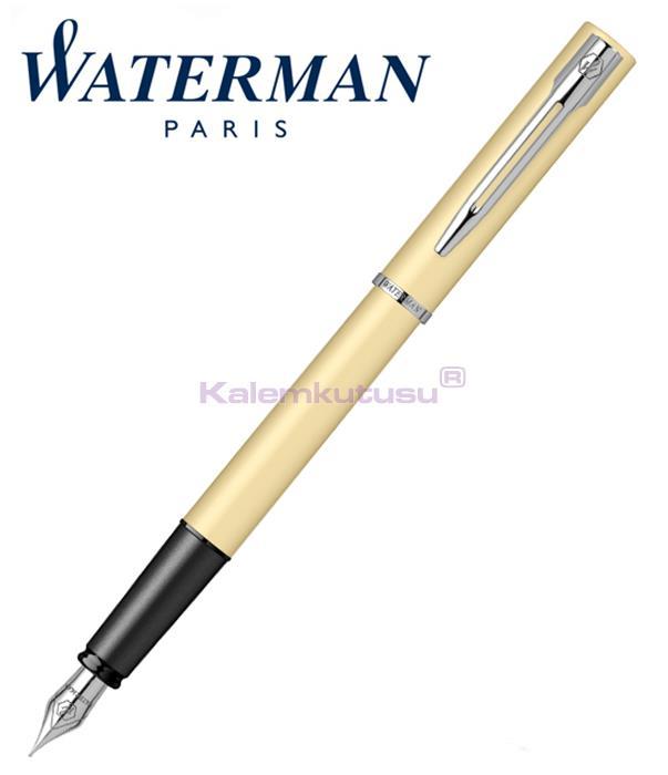 Waterman Allure Pastel Sarı/Paladyum Dolma Kalem<br><img src='resim/isyaz.gif' border='0'/>