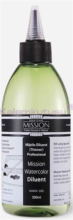 Mission Suluboya İnceltici 300Ml Wm300