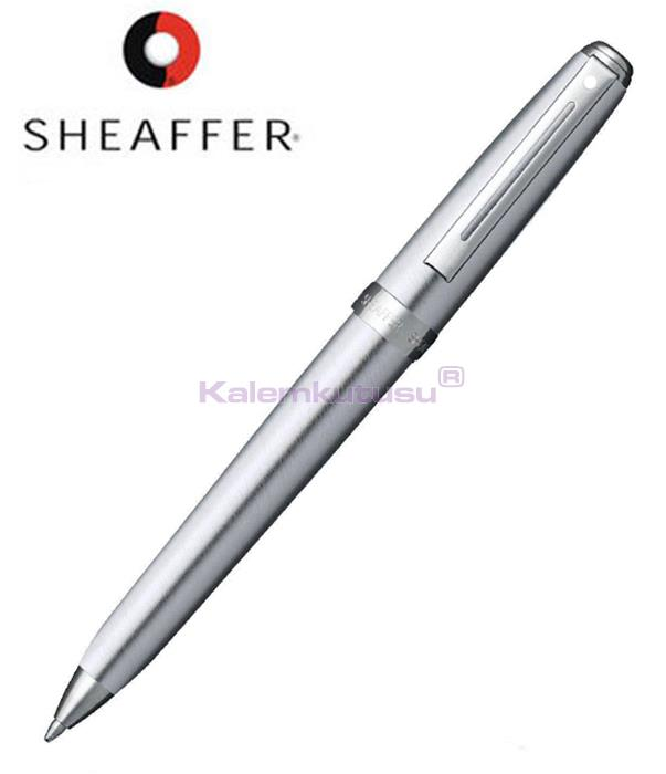 SHEAFFER Prelude Buz Krom/Nikel Tükenmez kalem<br><img src='resim/isyaz.gif' border='0'/>