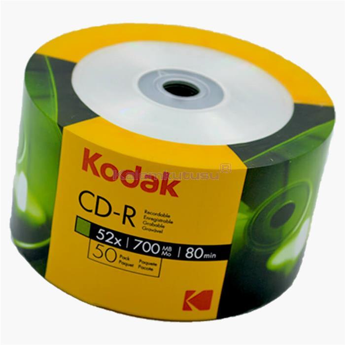 KODAK 281705 CD-R 700MB/80MIN 52X 50 LI