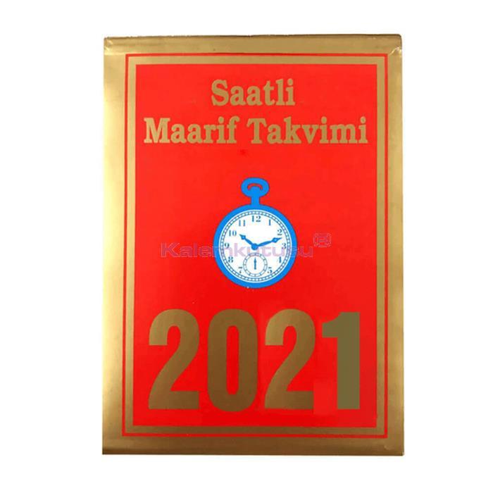 Saatli Maarif Takvim 2021 - Küçük