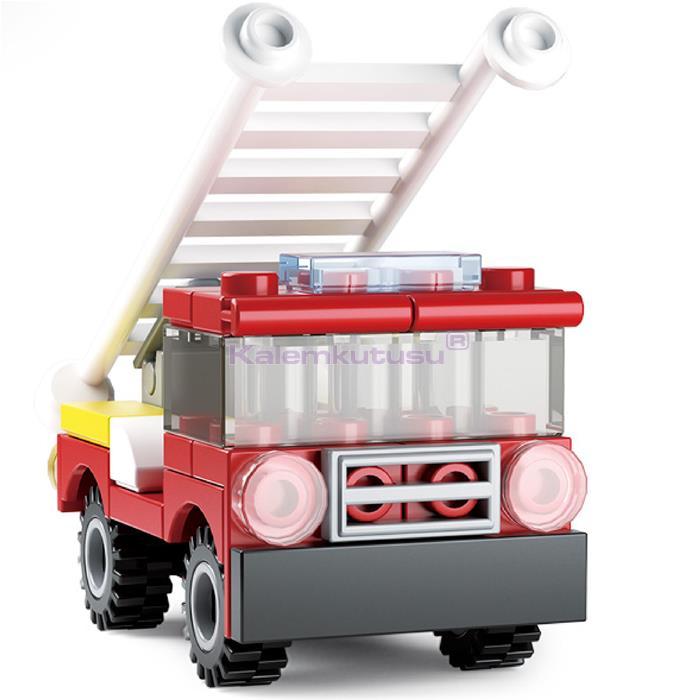 SLUBAN B0593C FIRE İTFAİYE ARABASI 39 PARÇA LEGO