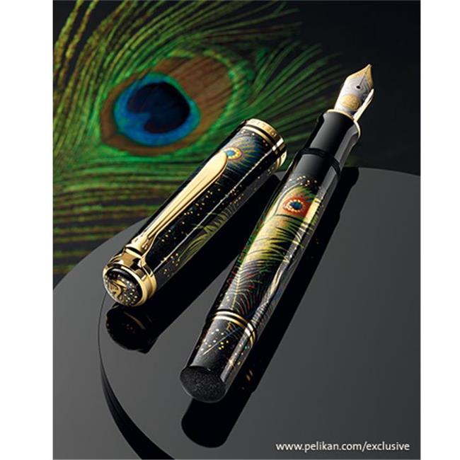 Pelikan Maki-e Peacock Dolma Kalem 4012700809414