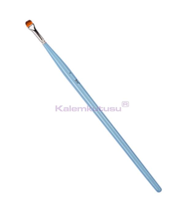 Brons BR-850 Sentetik Yağlı ve Akrilik Boya Fırçası Uzun Saplı No 0