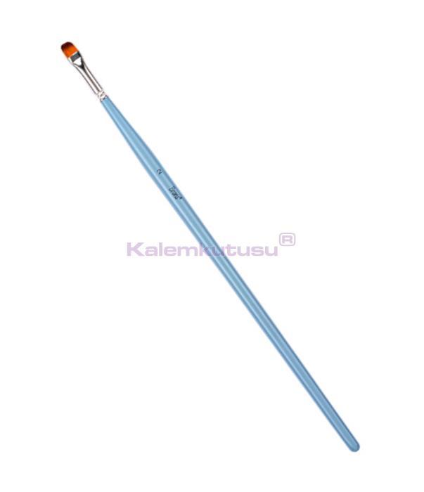Brons BR-851 Sentetik Yağlı ve Akrilik Boya Fırçası Uzun Saplı No 2