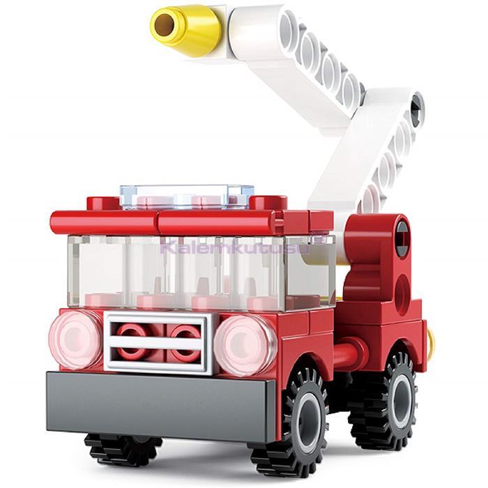 SLUBAN B0593A FIRE İTFAİYE ARABASI 43 PARÇA LEGO