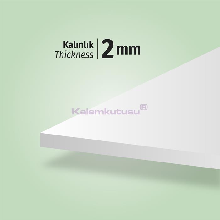 Brons BR-1200 Beyaz Fotoblok Maket Kartonu 50x70 %30 İndirimli Fiyatlarla!