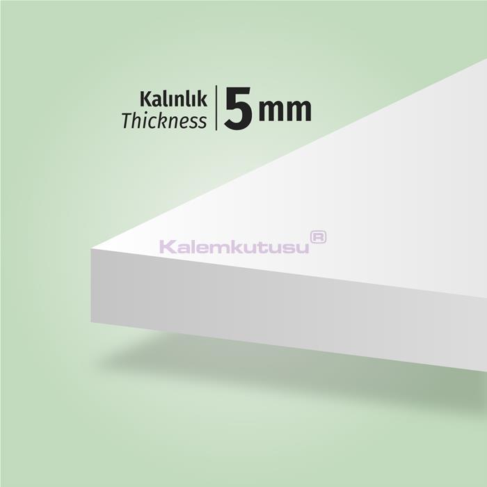 Brons BR-1202 Beyaz Fotoblok Maket Kartonu 50x70  %30 İndirimli Fiyatlarla!