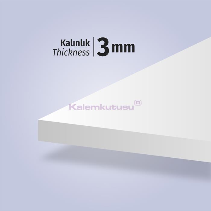 Brons BR-1210 Beyaz Fotoblok Maket Kartonu 70x100 %30 İndirimli Fiyatlarla!