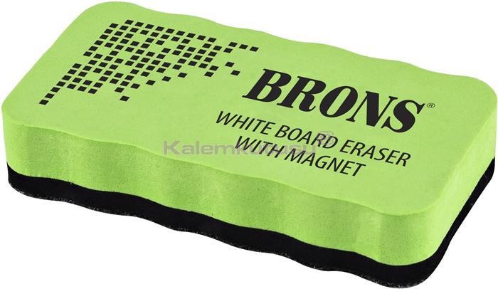 Brons BR-259 Mıknatıslı Eva Tahta Silgisi Yeşil