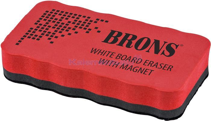 Brons BR-259 Mıknatıslı Eva Tahta Silgisi Kırmızı