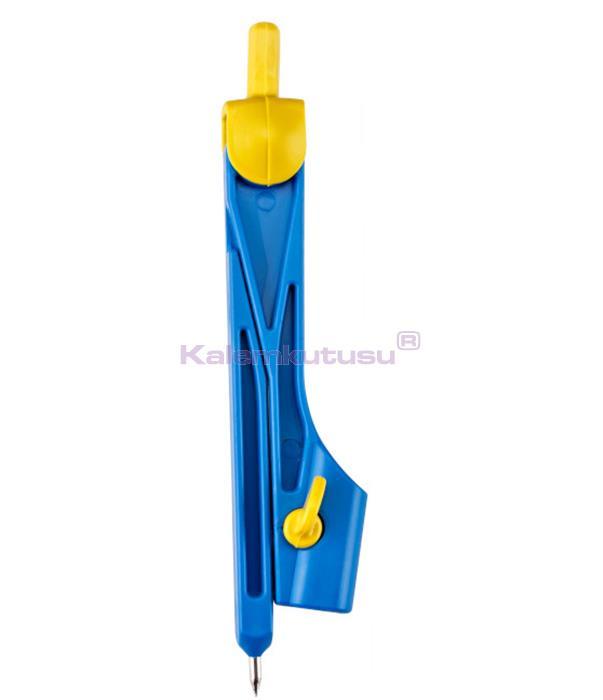 Brons BR-219 Plastik Pergel Mavi