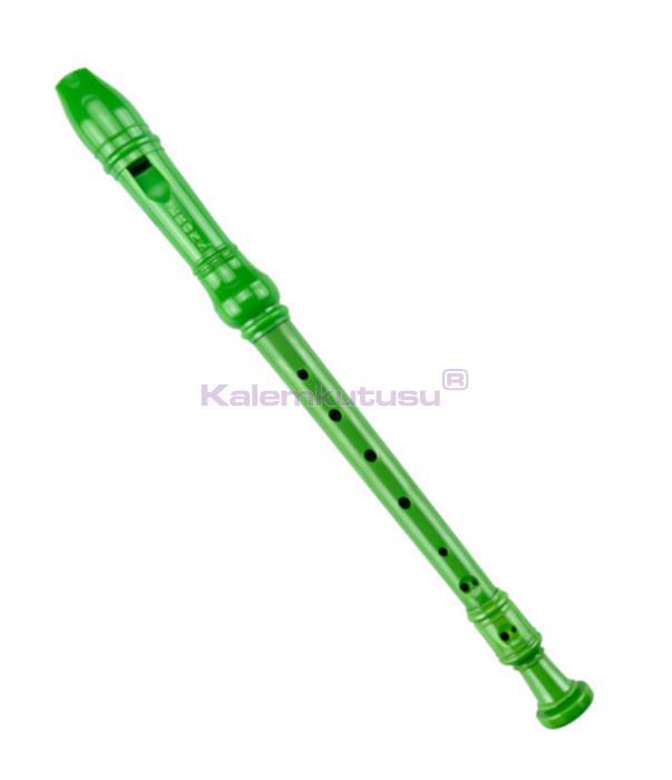 Brons BR-220 Klasik Flüt Yeşil