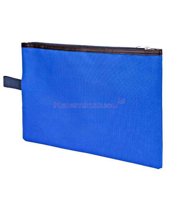 Brons BR-3550 Öğrenci Portföy Çantası Mavi