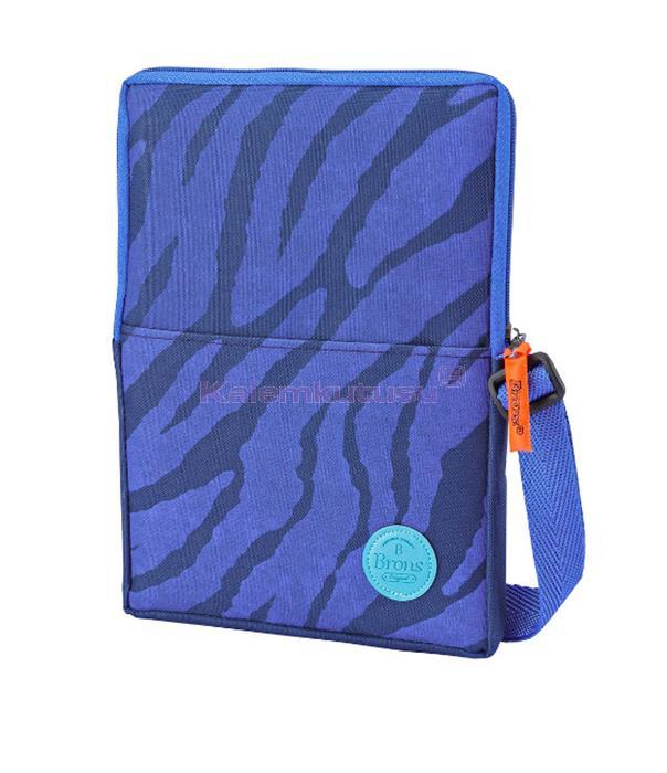 Brons BR-3525 Öğrenci Tablet Çantası Mavi