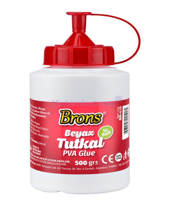 Brons BR-410 Genel Amaçlı Tutkal 500 gr   %30 İndirimli Fiyatlarla!