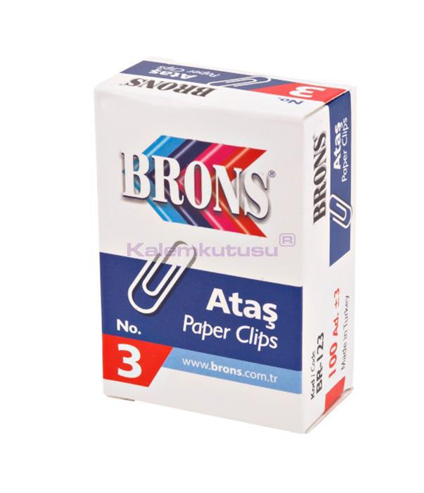 Brons BR-123 Metal Ataş No 3
