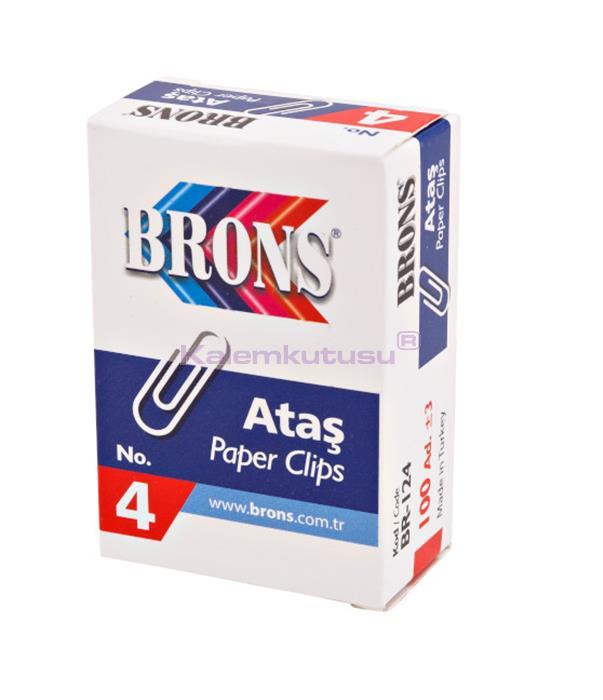 Brons BR-124 Metal Ataş No 4 %30 İndirimli Fiyatlarla!