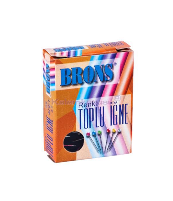 Brons BR-358 Başlıklı Toplu İğne 48'li %30 İndirimli Fiyatlarla!