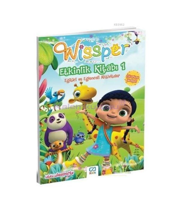 CA Games Wissper Etkinlik Kitabı 1 CA.1015