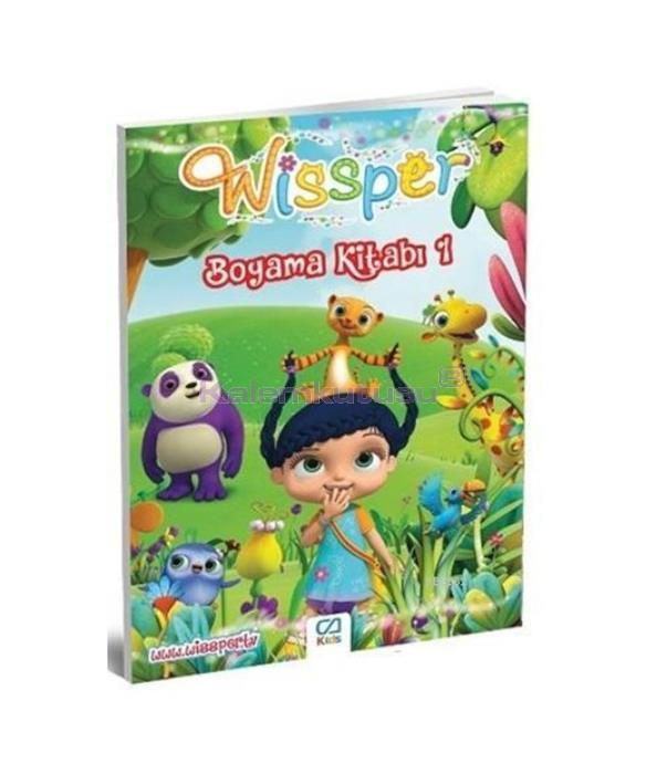 CA Games Wissper Boyama Kitabı 1 CA.1017