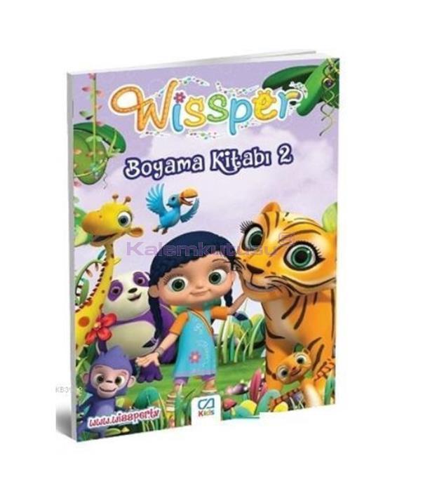 CA Games Wissper Boyama Kitabı 2 CA.1018