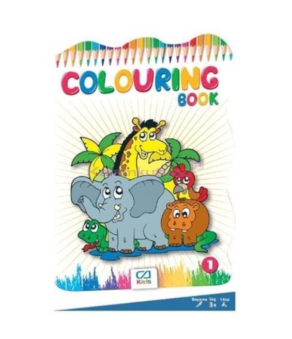 CA Games Coloring Book Boyama Kitabı 1 CA.1011