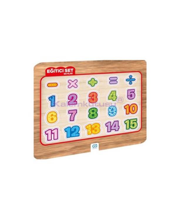 CA Games Eğitici Set  Sayılar - 5057