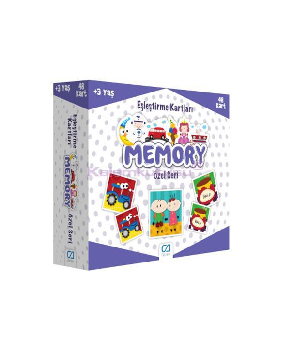 CA Games Memory Özel Seri Eşleştirme Kartı - 5039