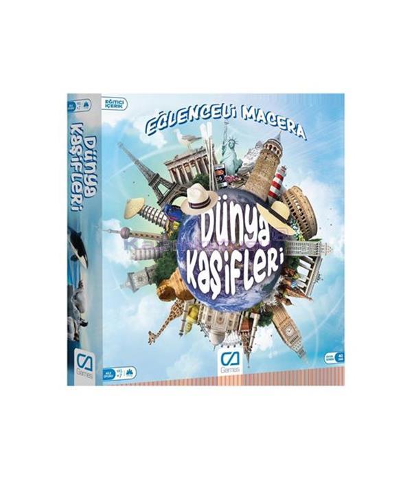 CA Games Kutu Oyunu Dünya Kaşifleri - 5104