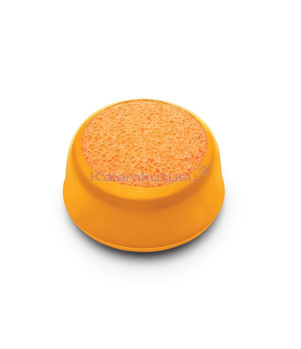 Mas 680 Parmak Nemlendirme Süngeri - Oranj