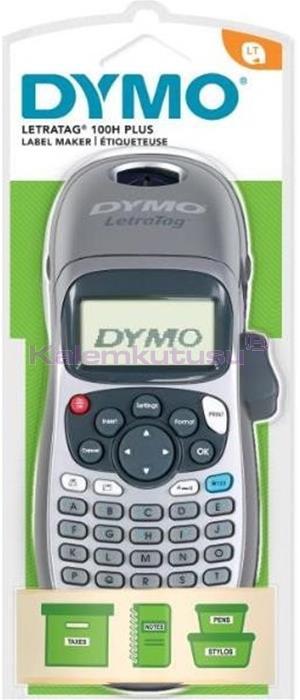 DYMO LetraTag  LT 100H 4 adet Pilli Elde Taşınabilir Kişisel Etiketleme Makinesi 2142279 %30 İndirimli Fiyatlarla